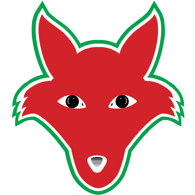 fox hill red fox mascot
